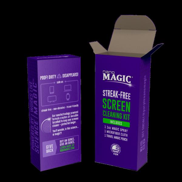 Nano Magic - 1oz Screen Cleaning Travel Kit - Box